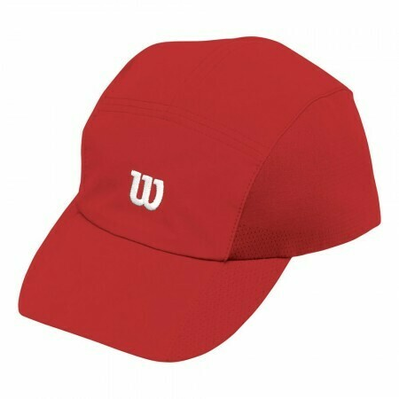 Wilson Rush Stretch Woven Cap - Red