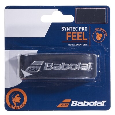 Babolat Syntec Pro Feel Replacement Grip - Black