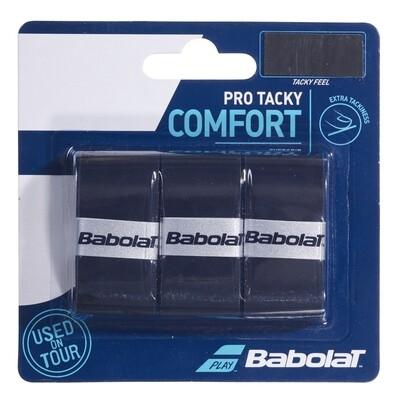 Babolat Pro Tour Comfort Overgrips 3 pack Black