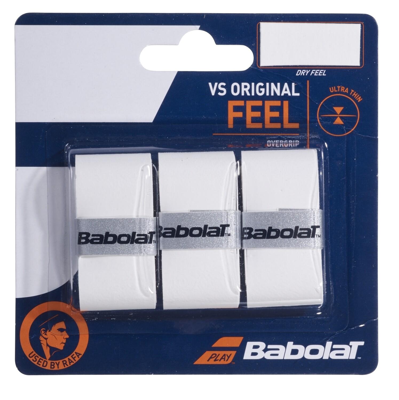 Babolat VS Original Feel Overgrips - White