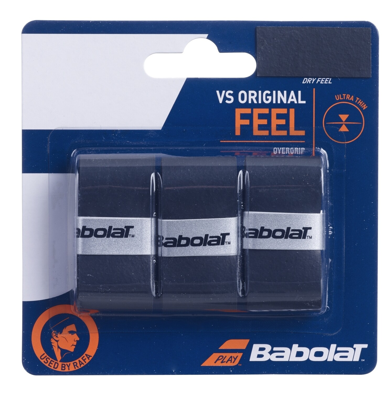 Babolat VS Original Feel Overgrips - Black