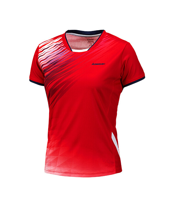 Kawasaki Ladies Tournament Shirt - Red