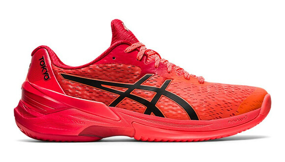 Asics Sky Elite FF Tokyo Court Shoes - Sunrise Red