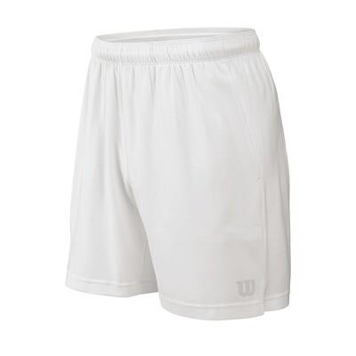 Wilson Men's Rush 7 Woven Short - White