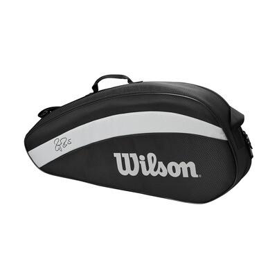 Wilson Federer Team Bag - 3 Pack - Black