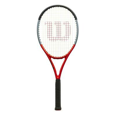 Wilson Clash 100 Reverse Tennis Racket - Red