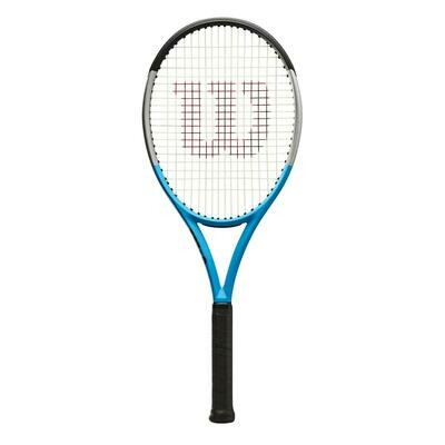 Wilson Ultra 100 V3.0 Reverse Tennis Racket - Blue