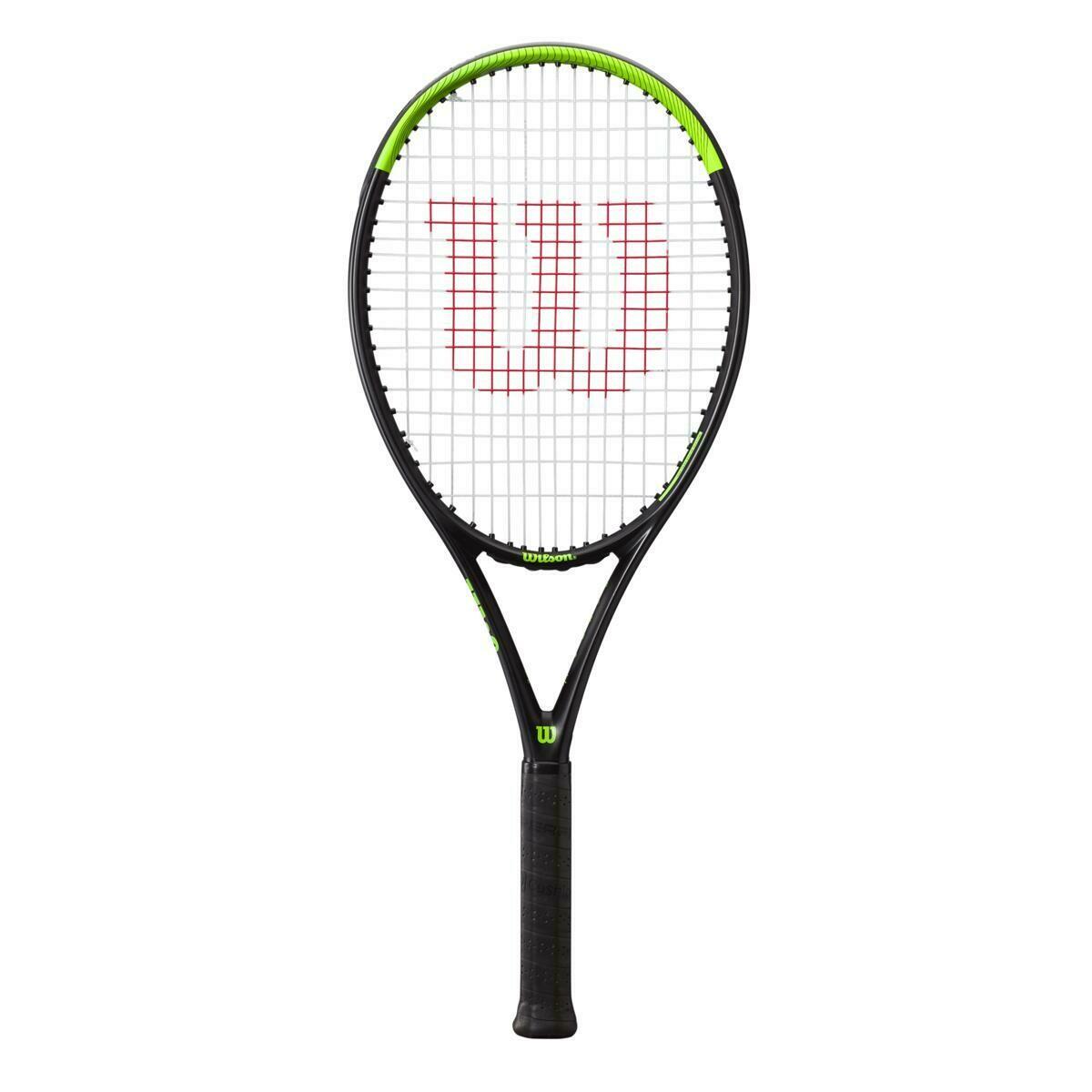 Wilson Blade Feel 105 Tennis Racket - Black