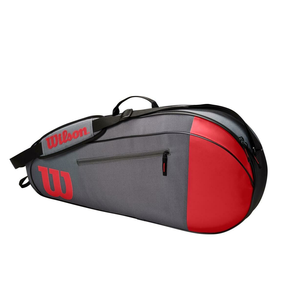 Wilson Team 3 Pack Bag - Red/Grey