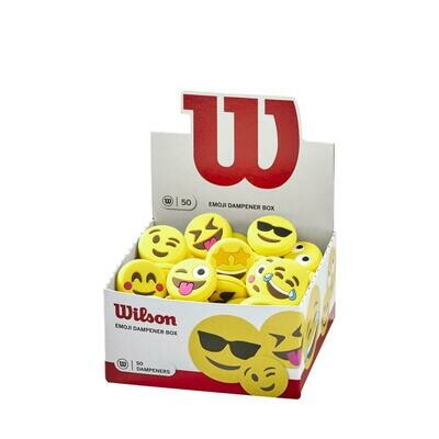 Wilson Emoji Dampener Box - 50 Pack