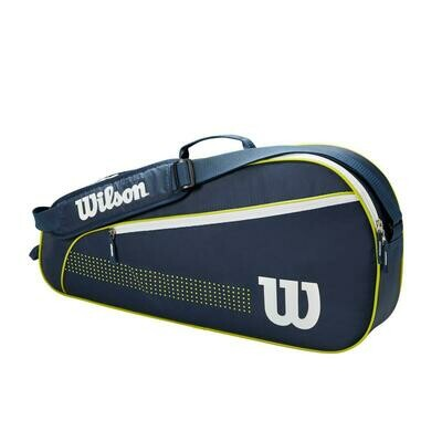 Wilson Junior 3 Pack Tennis Bag - Navy