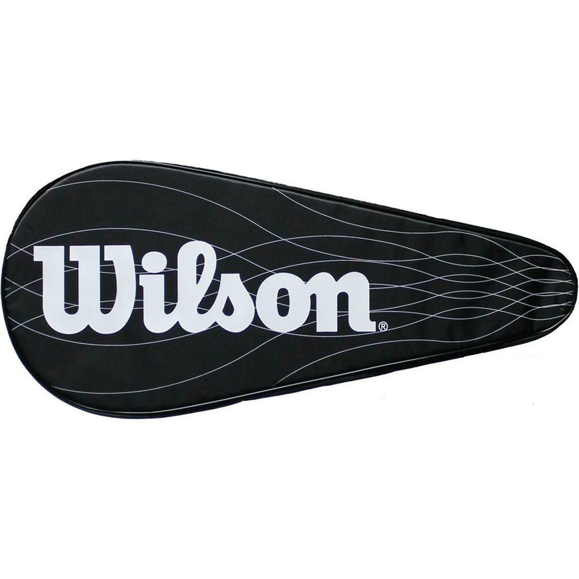 Wilson Performance Tennis Racket Cover - Black