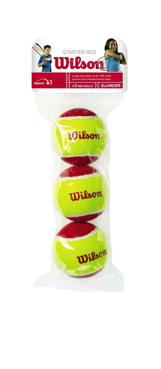 Wilson Starter Red Mini Tennis Balls - 3 Pack