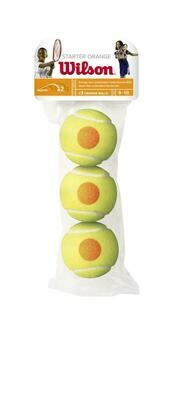 Wilson Starter Orange Tennis Balls - 3 Pack