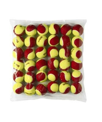 Wilson Starter Red Tennis Balls - 36 Pack