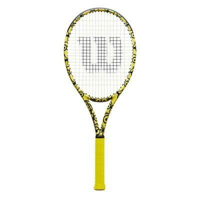 Wilson x Minions Ultra 100 V3.0 Tennis Racket - Yellow