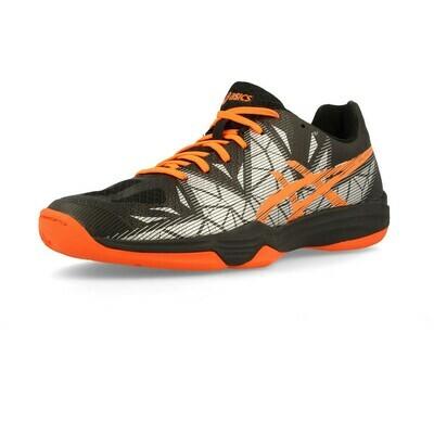 Asics Gel Fastball 3 Court Shoes - Black/Shocking Orange
