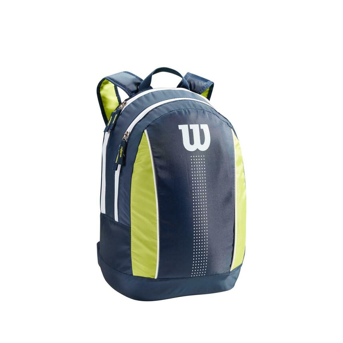 Wilson Junior Backpack - Navy/Lime