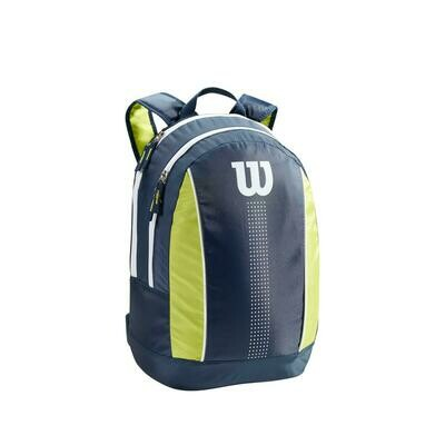 Wilson Junior Backpack - Navy/Lime