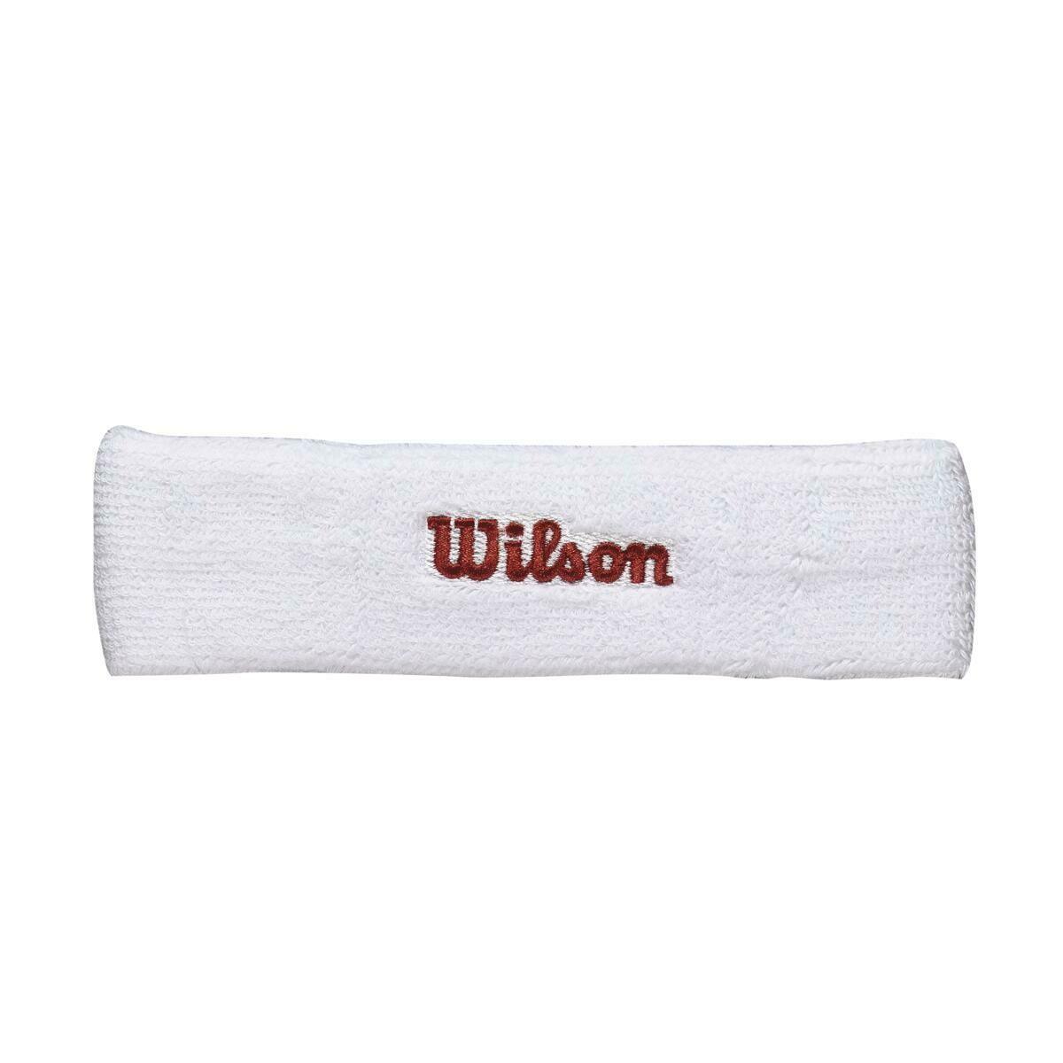 Wilson Headband - White