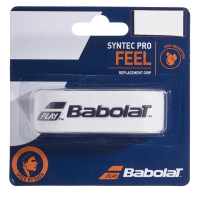 Babolat Syntec Pro Feel Replacement Grip - White