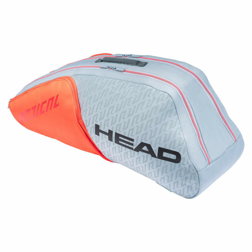 Head Radical 6 Racket Combi Bag - Orange