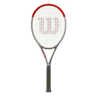 Wilson Clash 100 Pro Special Edition Tennis Racket - Platinum