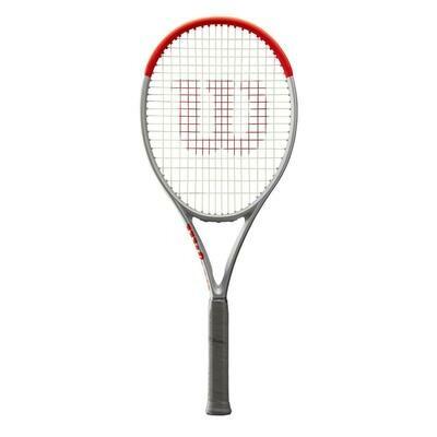 Wilson Clash 100 Special Edition Tennis Racket - Platinum