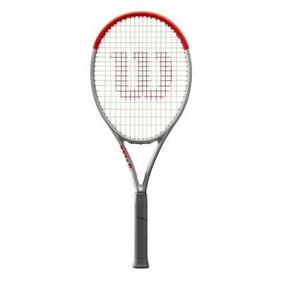 Wilson Clash 100L Special Edition Tennis Racket - Platinum