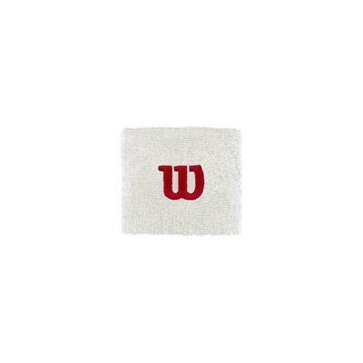 Wilson W Wristbands Pair - White