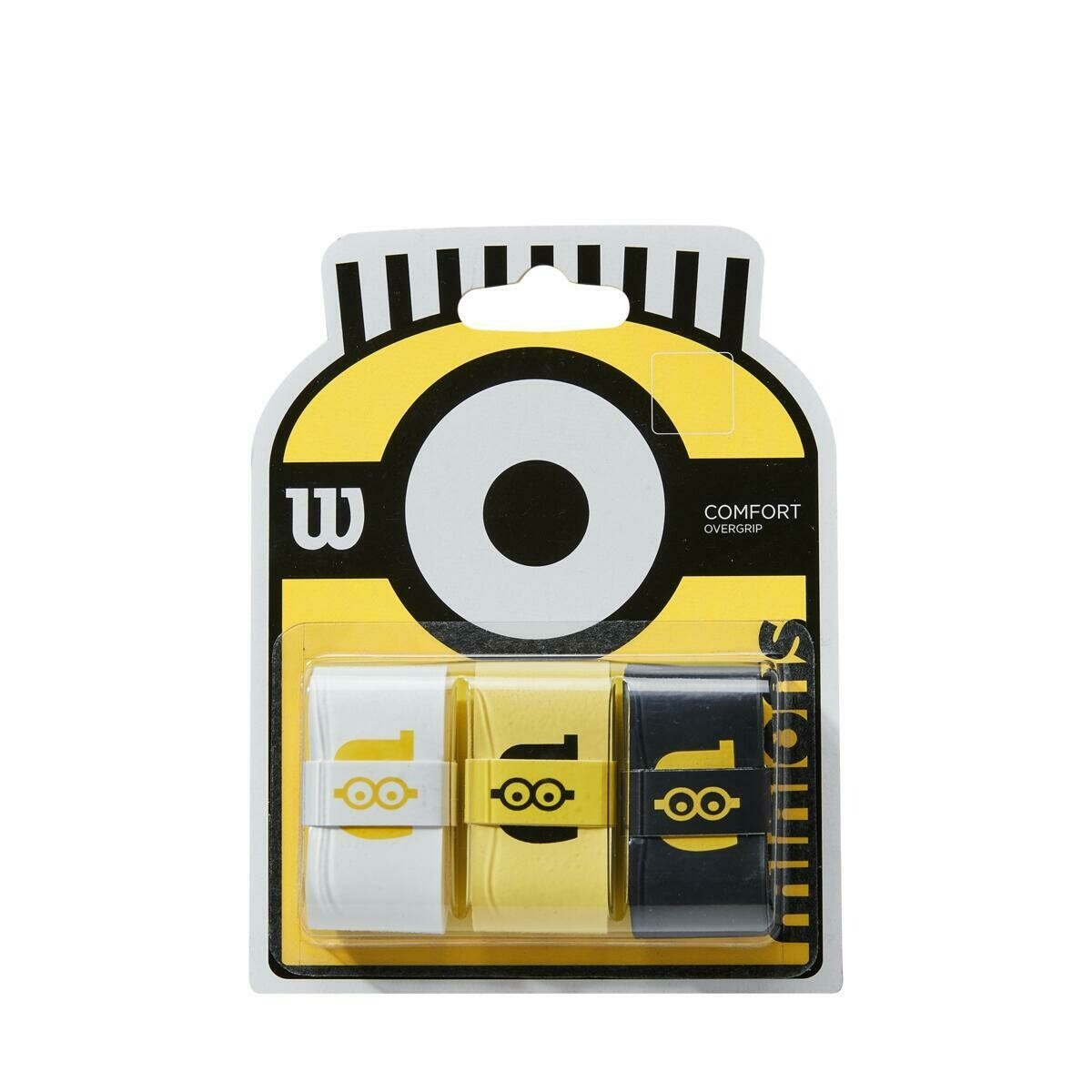 Wilson Minions Overgrips - 3 Pack