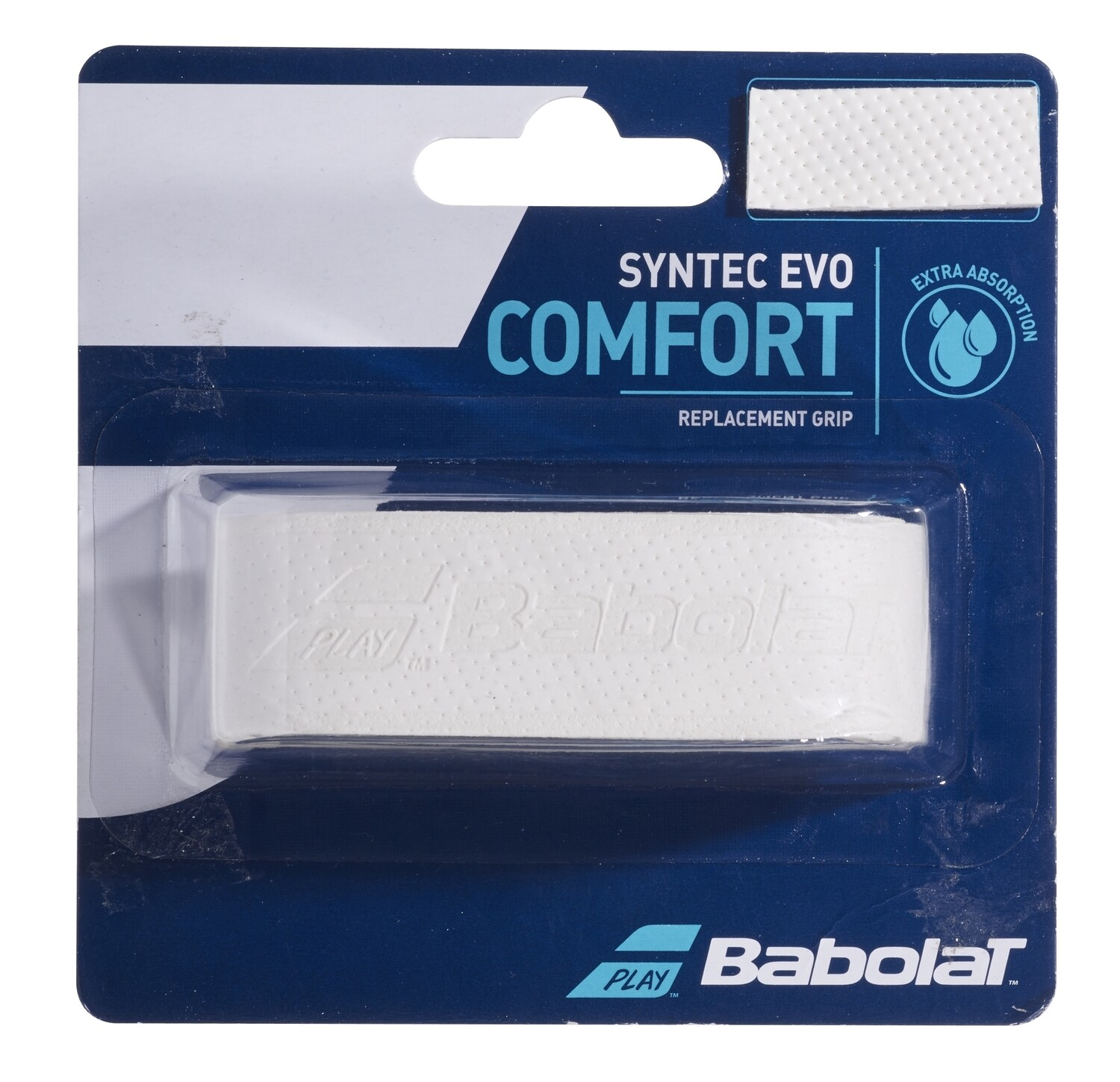 Babolat Syntec Evo Comfort Replacement Grip - White