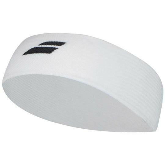 Babolat Logo Headband - White