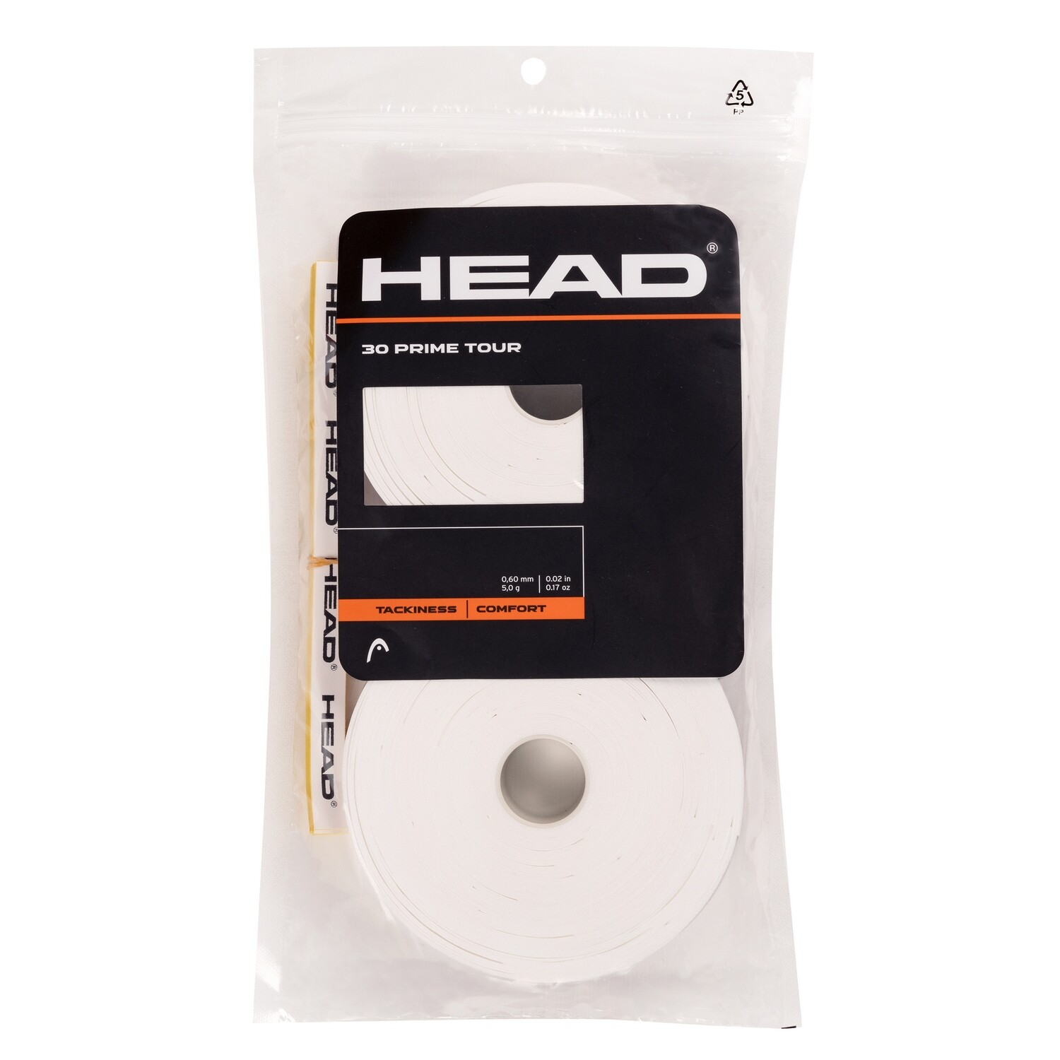 Head Prime Tour Overgrips 30 Pack - White
