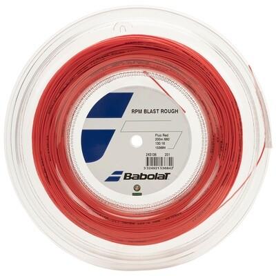 Babolat RPM Blast Rough Tennis String 200m Reel - Red