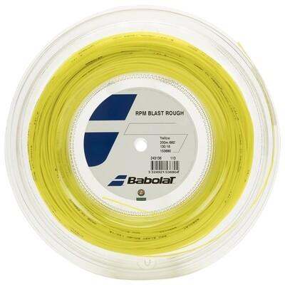 Babolat RPM Blast Rough Tennis String 200m Reel - Yellow