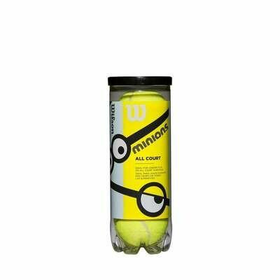 Wilson Minions Stage 1 Tennis Balls - 3 Pack
