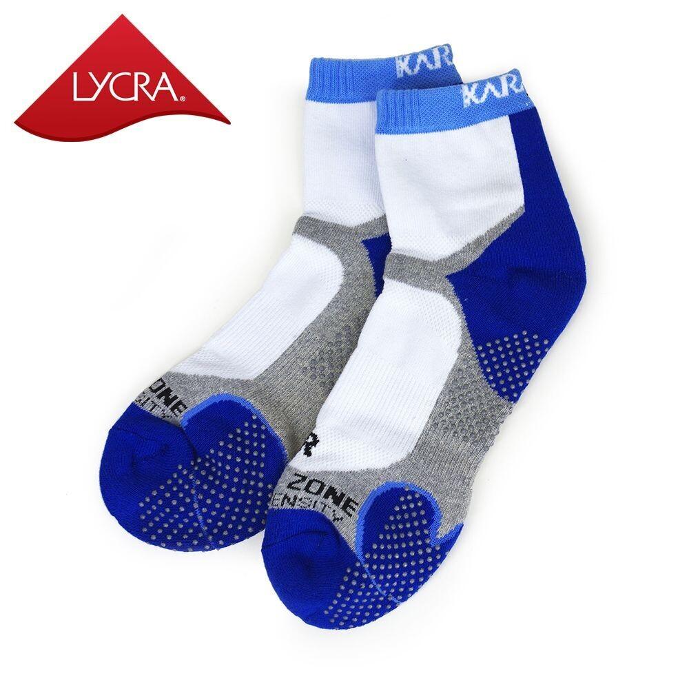 Karakal X4 Technical Ankle Sock - White/Blue