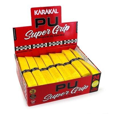 Karakal PU Super Grips Yellow - Box 24
