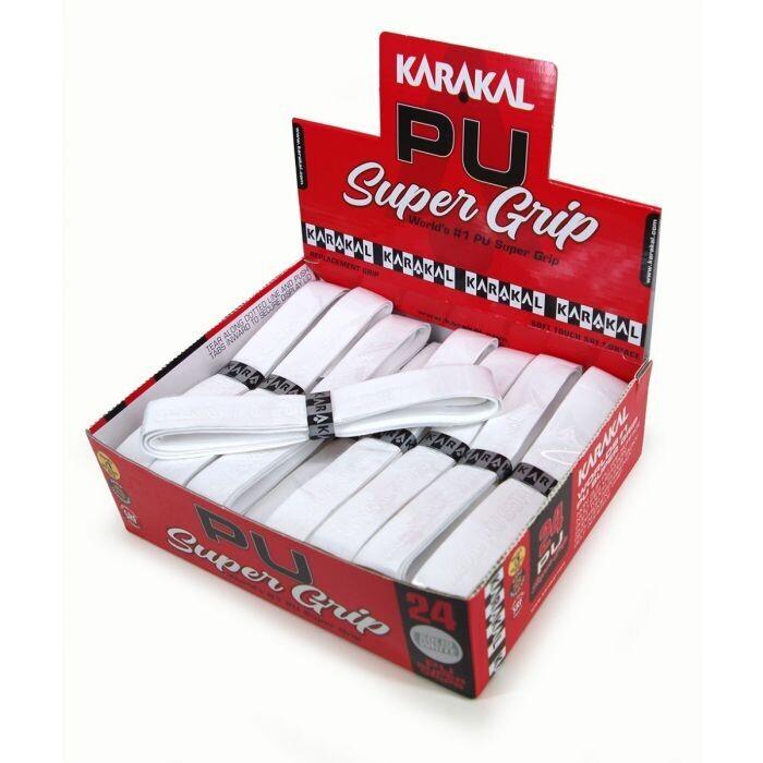 Karakal PU Super Grip White - Box 24