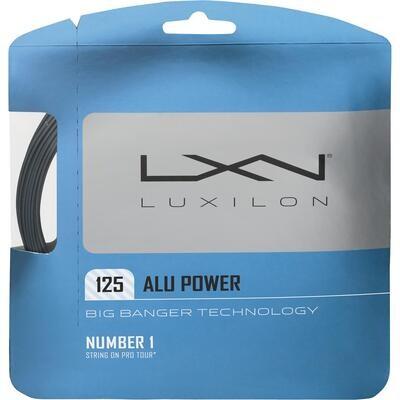 Luxilon Alu Power Tennis String Set - Silver