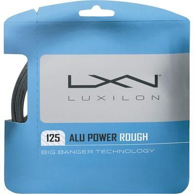 Luxilon Alu Power Rough Tennis String Set - Silver