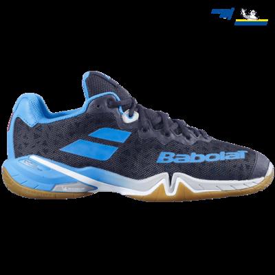 Babolat Shadow Tour Men's Court Shoes - Black/Blue