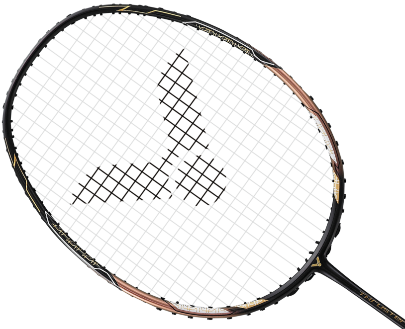 Victor Thruster F Claw Badminton Racket - Black/Gold