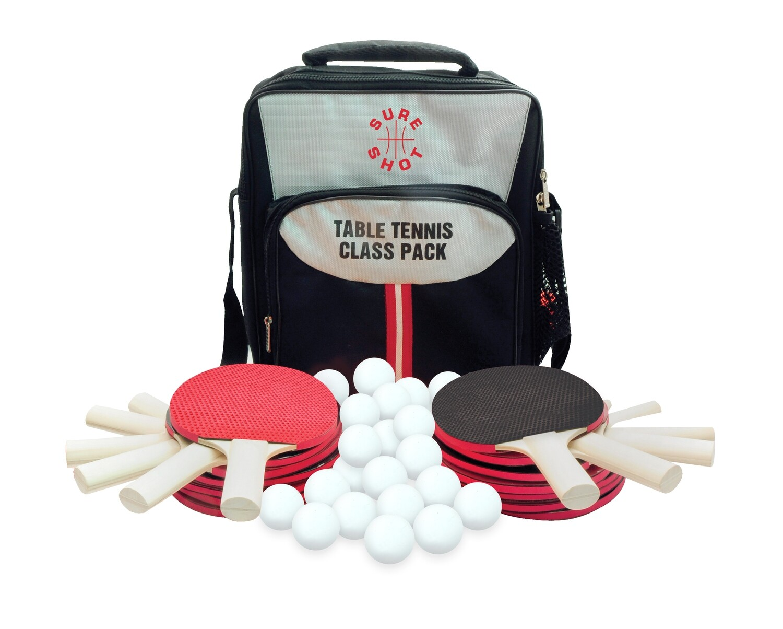 Sure Shot Table Tennis Class Pack Pimpled Out Bats