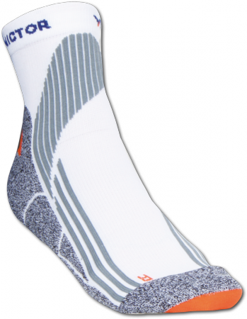Victor Indoor Explosion Socks - White
