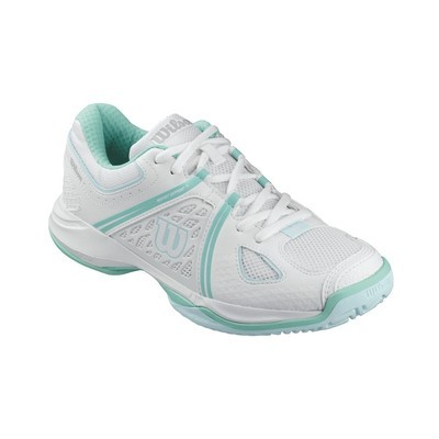Wilson NVision Envy Court Shoes - White/Mint
