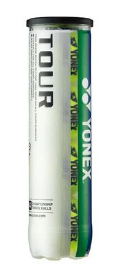 Yonex Tour Tennis Balls - 4 Ball Tube