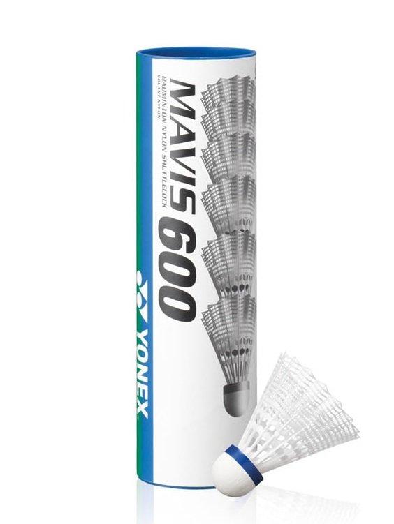 Yonex Mavis 600 Shuttlecock - Tube of 6