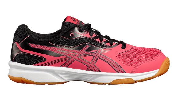 Asics Gel Upcourt 2 GS Junior Court Shoes - Rouge Red